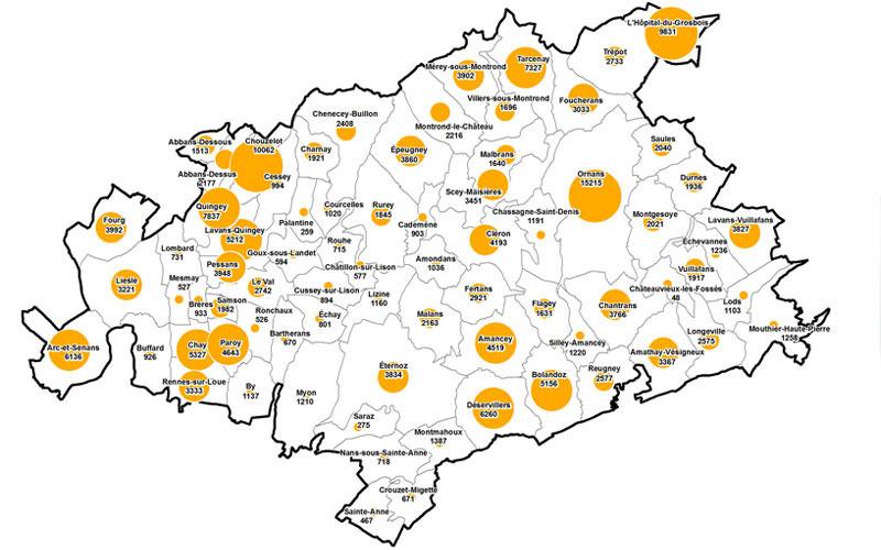 Cartographie Mosaique Environnement